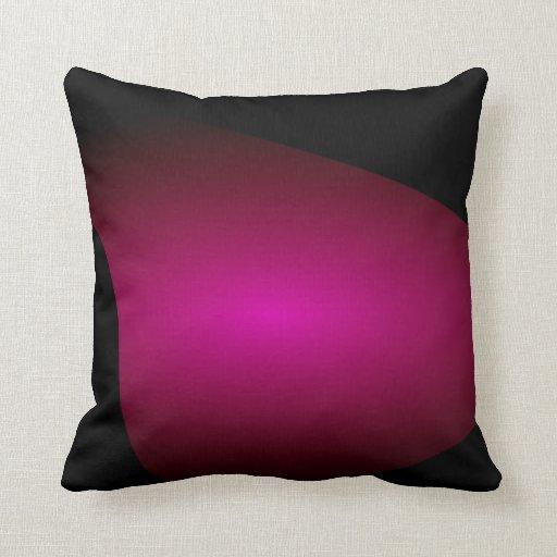 Spiral Shell Red Purple Pillow