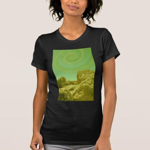 Spiral Sky T_Shirt