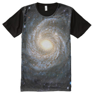 Spiral Snowflake Seyfert Galaxy NGC 6814 All-Over-Print T-Shirt