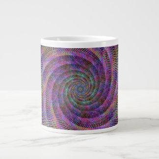 Spiral 20 Oz Large Ceramic Coffee Mug
