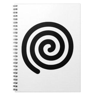 Spiral Spiral Note Book