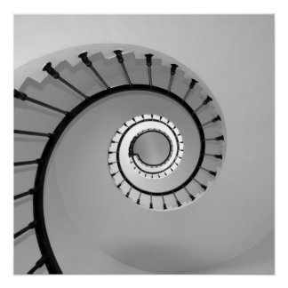 Spiral staircase 02 poster