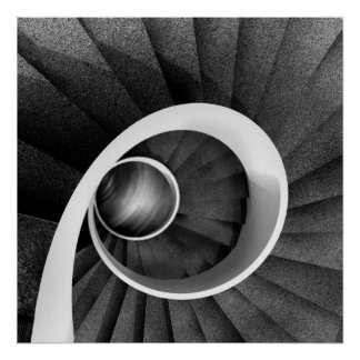 Spiral staircase 03 poster