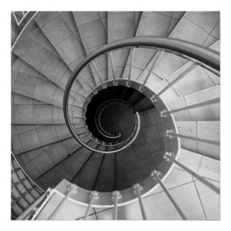 Spiral staircase 04 poster