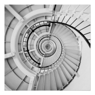 Spiral staircase 06 poster