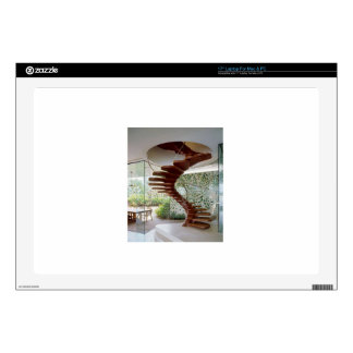 SPIRAL STAIRCASE : House Interior Woodwork GIFTS Skins For Laptops