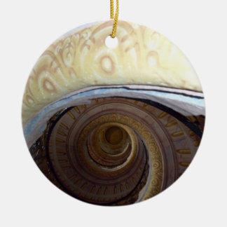 Spiral staircase Melk Abby Ceramic Ornament