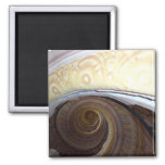 Spiral staircase Melk Abby Refrigerator Magnets