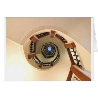 Spiral Stairway Card