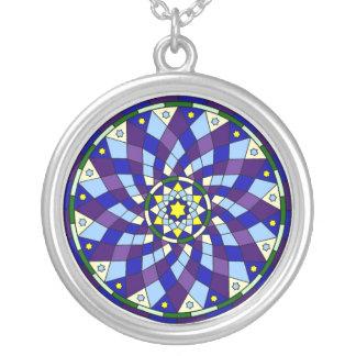 Spiral Star Mandala Necklaces