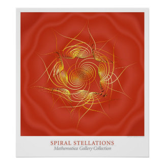 Spiral Stellations Print