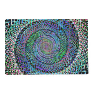 Spiral structure placemat