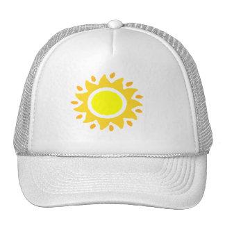 Spiral Sun Trucker Hat