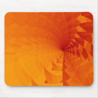 Spiral Sunset Mouse Pad