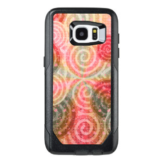 Spiral Swirl Floral Lace OtterBox Samsung Galaxy S7 Edge Case