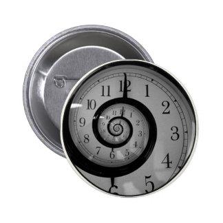 Spiral Time 2 Inch Round Button