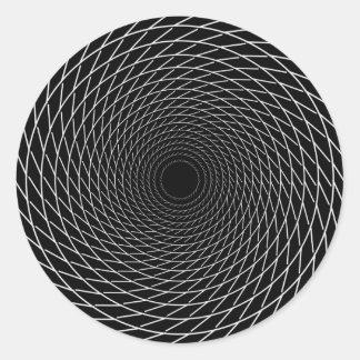 Spiral to Infinity Classic Round Sticker