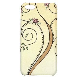 Spiral Tree iPhone 4 Case