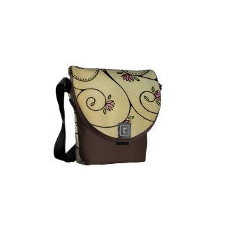 Spiral Tree Mini Zero Messenger Bag