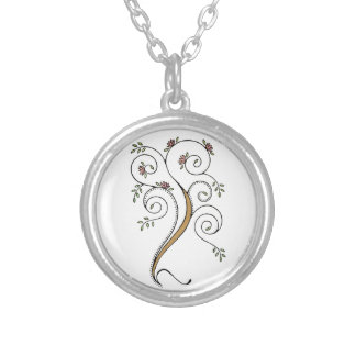 Spiral Tree Necklace