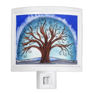 Spiral Tree night light