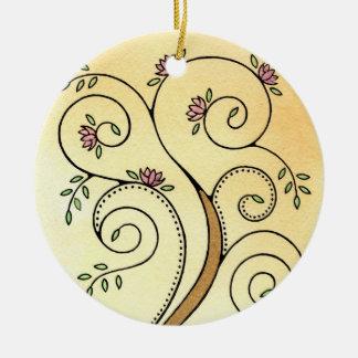 Spiral Tree Ornament