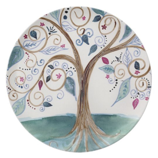 Spiral Tree Plate