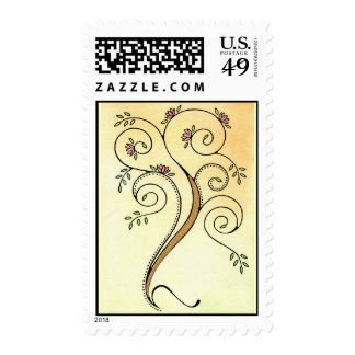 Spiral Tree Stamps