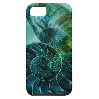 Spiral Turquoise Conch Shell iPhone SE/5/5s Case