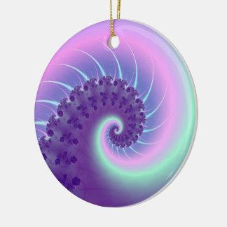 Spiral Wave Fractal Ornament