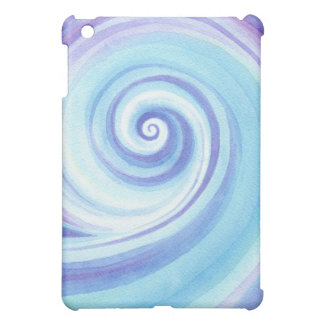 Spiral, Wave Shell Water Colour Cover For The iPad Mini
