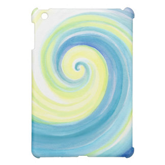 Spiral, Wave Shell Water Colour iPad Mini Cases