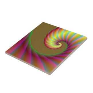 Spiral Wave tile