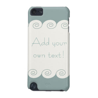 Spiral Waves iPod Touch (5th Generation) Case