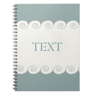 Spiral Waves Spiral Note Books