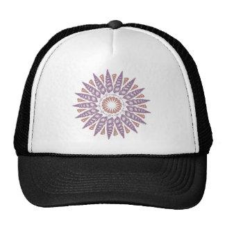Spiral Wentletrap Shell Circle v2 Trucker Hat