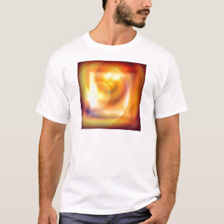 Spiraled Square Abstract T-Shirt
