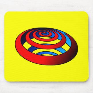 Spiralen Strudel spirals whirlpool Mouse Pad