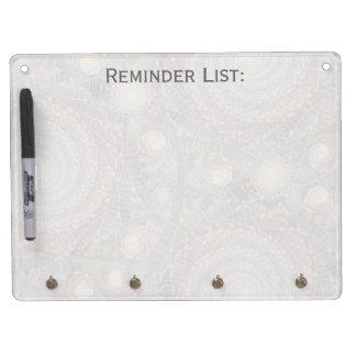 """spiralfilmfrost"" Custom Dry Erase Board"