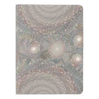 """spiralfilmfrost"" Notebook Cover"