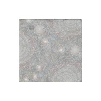 """""""spiralfilmfrost"""" Stone Magnet"""