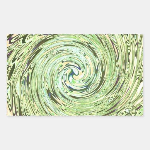 SpiralG.jpg Pegatina Rectangular