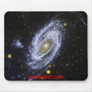 SpiralGalaxy, ovalorbit.com Mouse Pad