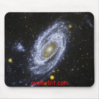 SpiralGalaxy, ovalorbit.com Alfombrilla De Ratones