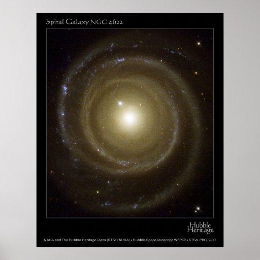 SpiralGalaxyNGC4622-2003-03 Poster