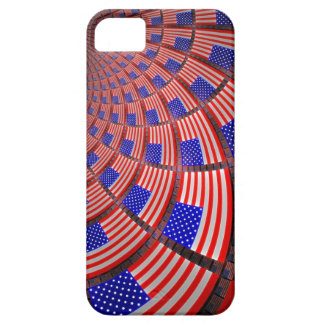 Spiraling flags iPhone SE/5/5s case