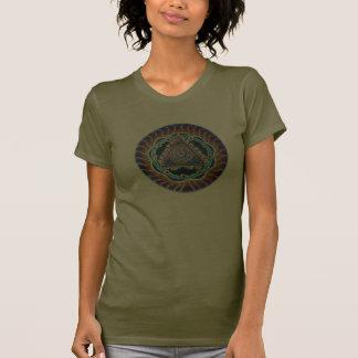 Spiraling Heart Mandala T Shirt