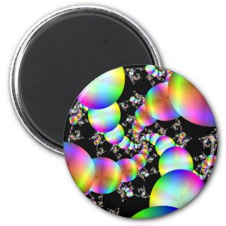 Spiraling Inwards 2 Inch Round Magnet