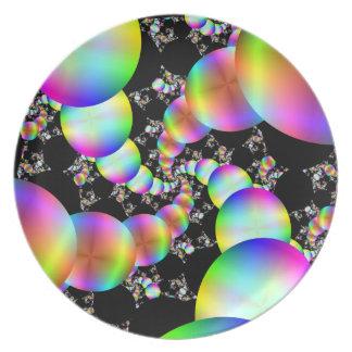 Spiraling Inwards Dinner Plate