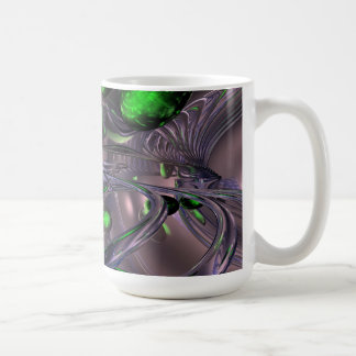 Spiraling out of Control Abstract Coffee Mug